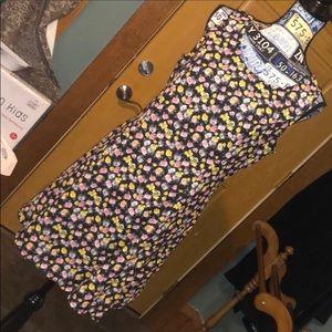 H&M floral pattern dress sz 14
